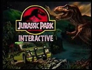 Jurassic Park Interactive - Jurassic Park Interactive title screen.