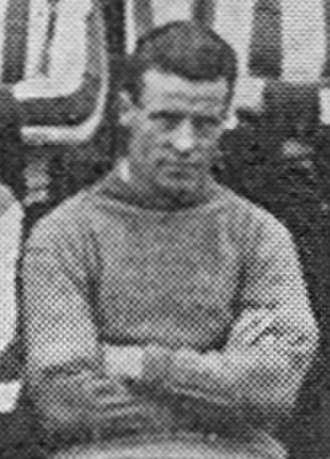 Jack Cartmell - Cartmell while assistant trainer at Brentford in 1927.