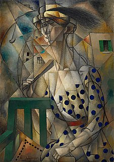 painting by Jean Metzinger