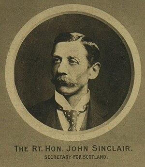 John Sinclair, 1st Baron Pentland