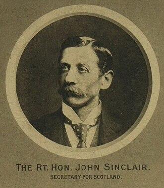 John Sinclair, 1st Baron Pentland - Image: John Sinclair MP