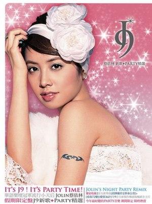 J9 (album) - Image: Jolin tsai j 9 party