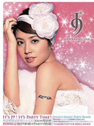 J9 (album) - Image: Jolin tsai j 9 party