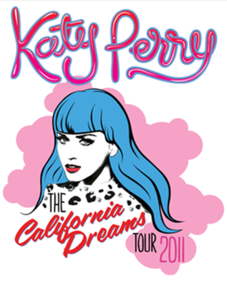 California Dreams Tour - Promotional poster for the tour