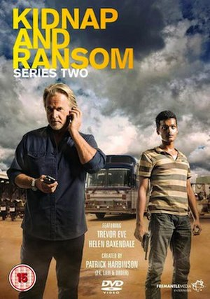 Kidnap and Ransom - DVD cover for series two