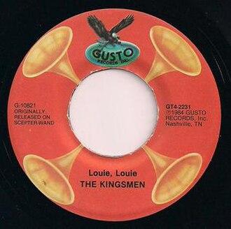 Gusto Records - Kingsmen - Gusto 2231 (1984)