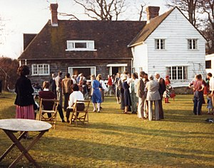 Jane Drew - Party at The Lake House, 1981