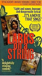 <i>Larks on a String</i> 1990 film by Jiří Menzel