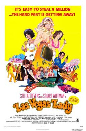 Las Vegas Lady - Theatrical release poster
