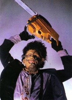 Leatherface fictional character in the Texas Chainsaw Massacre series