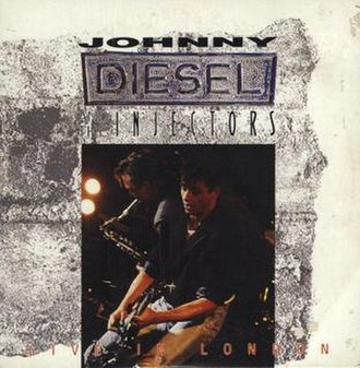 Live in London (Johnny Diesel and the Injectors EP) - Image: Live in London Johnny Diesel and the Injectors