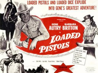 Loaded Pistols - Theatrical release poster
