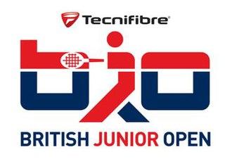 British Junior Open Squash - Image: Logo British Junior Open