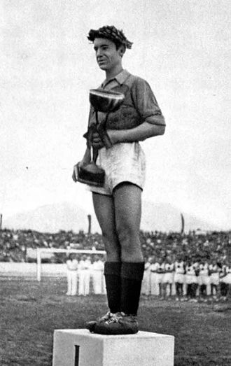 Albania national football team - Loro Boriçi captained the team in winning the 1946 Balkan Cup.