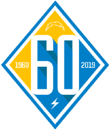 Los Angeles Chargers 60th season logo.png