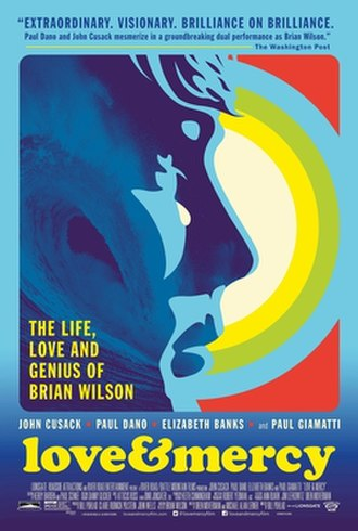 Love & Mercy (film) - Theatrical release poster