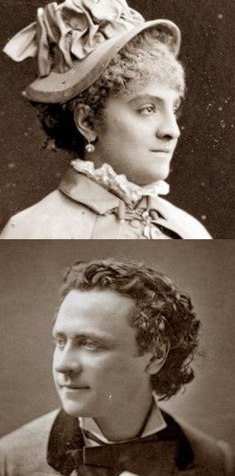 Giroflé-Girofla - Pauline Luigini and Mario Widmer, the original Giroflé/Girofla and Marasquin