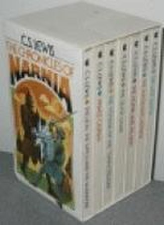The Chronicles of Narnia - A 1970 Collier-Macmillan edition paperback boxed set (cover art by Roger Hane), where the books are presented in order of original publication