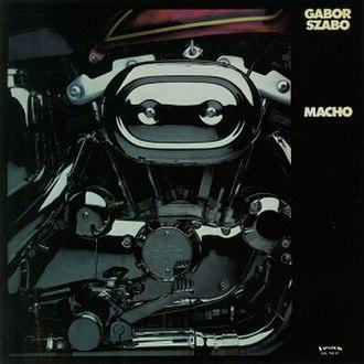 Macho (album) - Image: Macho (album)
