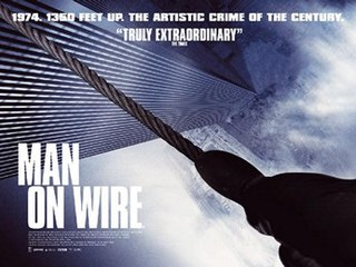 <i>Man on Wire</i> 2008 documentary film directed by James Marsh