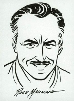 Russ Manning - Self-portrait