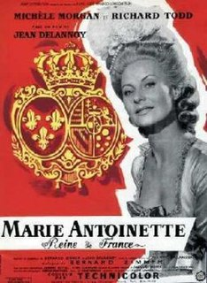 <i>Marie Antoinette Queen of France</i> 1955 film by Jean Delannoy