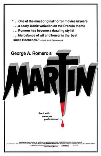 Martin (1978 film) - Theatrical release poster