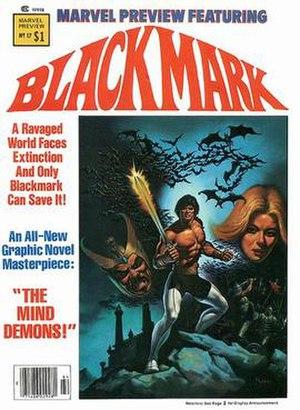 Blackmark - Image: Marvel Preview 17 Blackmark