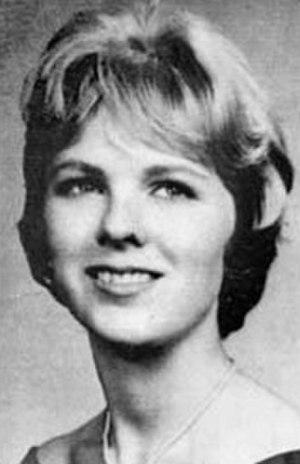 Mary Jo Kopechne - 1962 college yearbook portrait of Kopechne