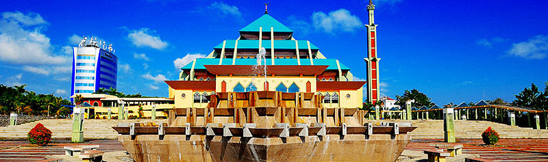 Masjid Agung Batam (Batam Great Mosque)-bahasa Indonesia