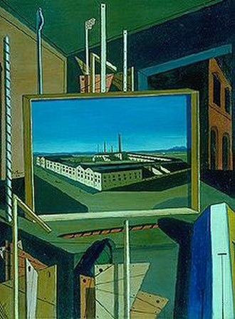 Metaphysical Interior with Large Factory - Image: Metaphysical with Factory