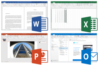 Microsoft Office - Image: Microsoft Office 2016 Screenshots