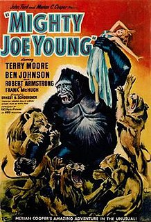 <i>Mighty Joe Young</i> (1949 film) 1949 American black-and-white fantasy film directed by Ernest B. Schoedsack