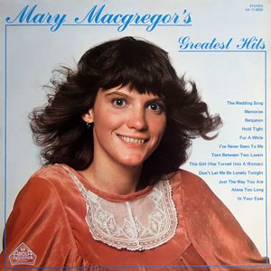 Mary MacGregor's Greatest Hits - Image: Mmgh