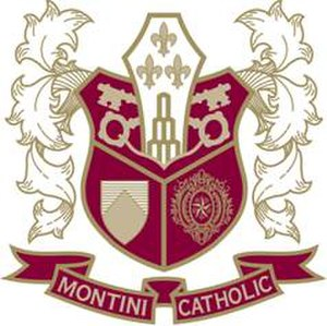 Montini Catholic High School - Image: Montini Catholic HS shield