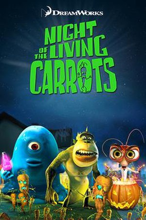 Night of the Living Carrots - Film poster