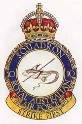 No. 10 Squadron RAAF - No. 10 Squadron's crest