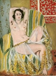 Matisse odalisque paintings