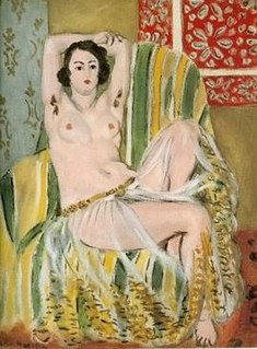 <i>Odalisque with Raised Arms</i> painting by Henri Matisse