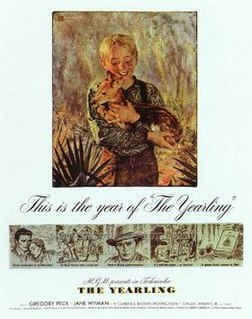 <i>The Yearling</i> (1946 film) 1946 film by Clarence Brown