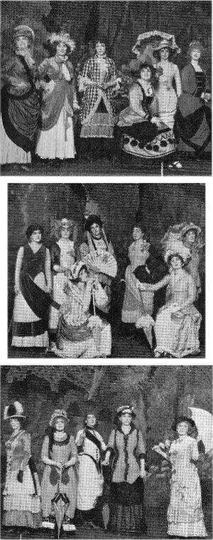 Hugo Rumbold - Rumbold's costumes for Patience