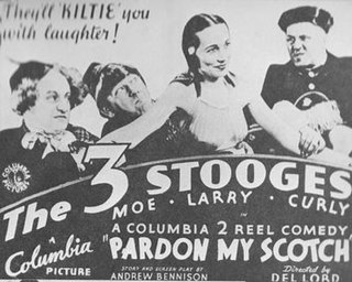 <i>Pardon My Scotch</i> 1935 film by Del Lord