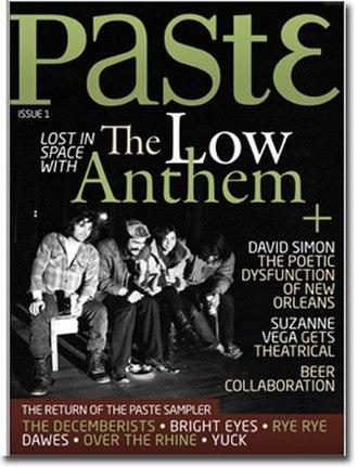 Paste (magazine) - Image: Paste Mag