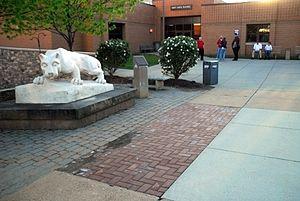 Penn State DuBois - Penn State DuBois Campus Nittany Lion on Quad