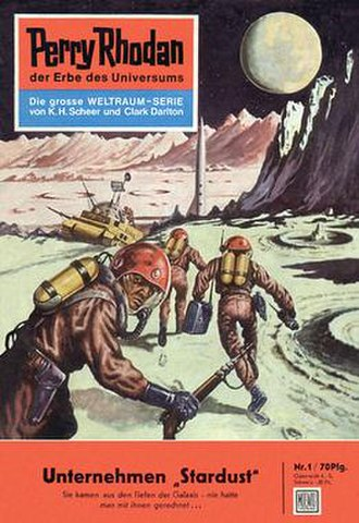 Perry Rhodan - Image: Perry Rhodan issue 1