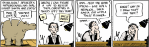 Piranha Club - Bud Grace making an appearance in a December 13, 2007 strip.