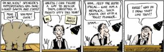 Piranha Club - Bud Grace making an appearance in a December 13, 2007 strip.