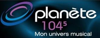 CFGT-FM - Image: Planete 1045