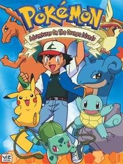 <i>Pokémon: Adventures in the Orange Islands</i> Second season of the Pokémon animated television series