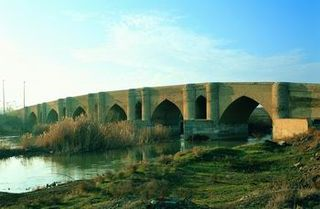 Kohneh Bridge Iranian national heritage site